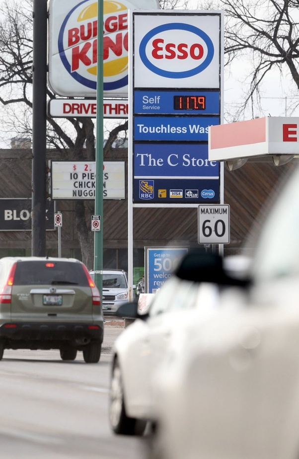 How to read prices for gasoline in Canada - Quora