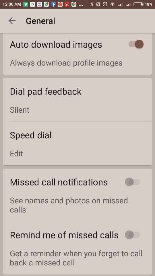 Why has my Android phone stopped showing missed call