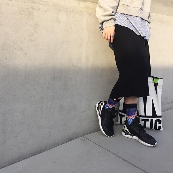 Seems pictures of girls wearing dirty socks