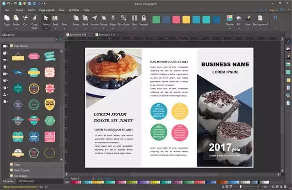 what is the best application on a mac to create flyers and small