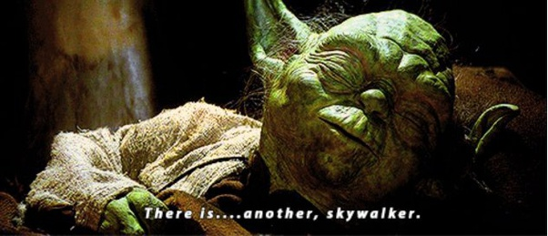 Image result for yoda there is another skywalker