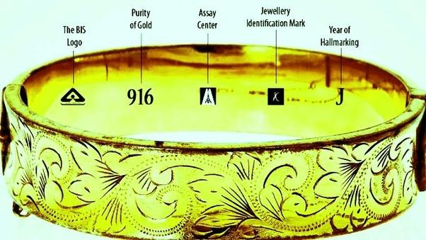How to check hallmark gold jewellery - Quora