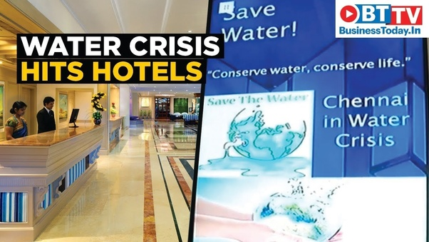 How can we solve the ongoing and upcoming water crisis in