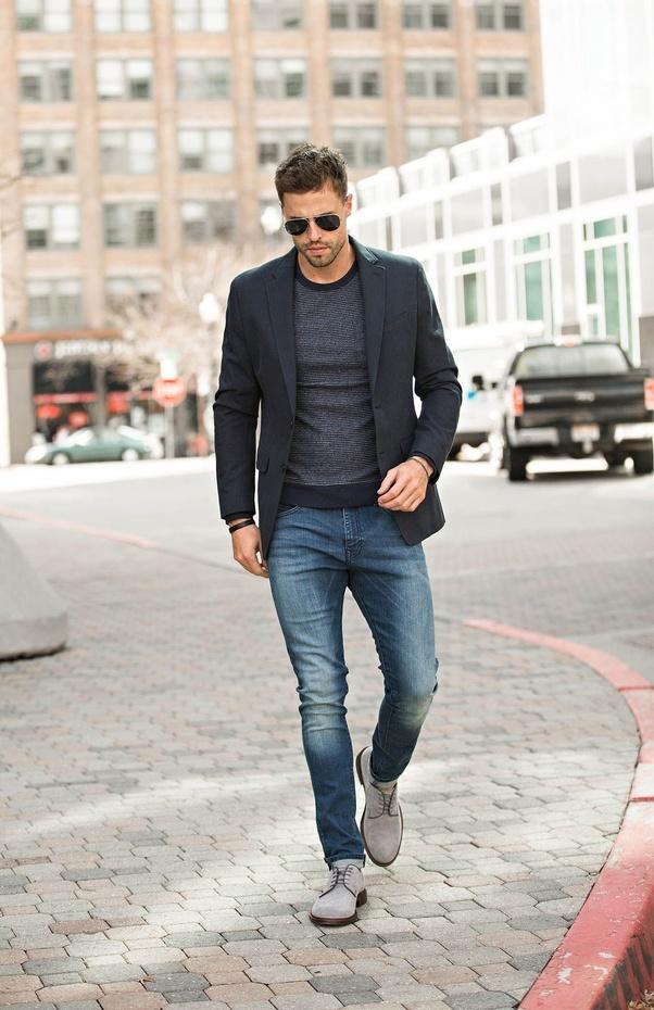 Hasil gambar untuk blazer jeans combination