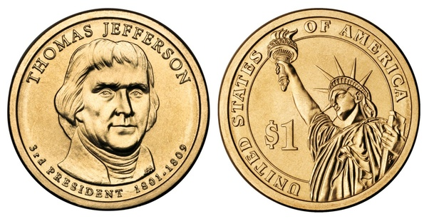 I Have A Jefferson Error Coin 1801 1809