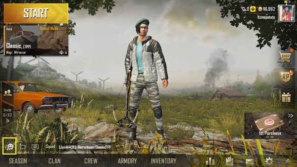 How to stand the avatar in different poses in PUBG mobile - Quora