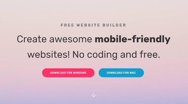 Is there an offline website builder? - Quora