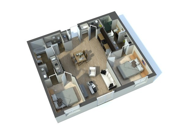 Nowadays All Clients Require 3D Floor Plans. So Now Instead Of Something  That You Offer Additionally, Floor Plans Design Have Become A Requirement.