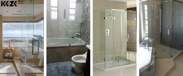 How Hard Is It To Scratch A Glass Shower Door Quora