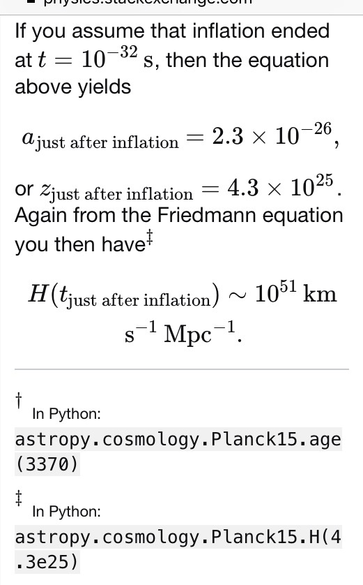 Inflation seems to be essential to the Big Bang cosmology