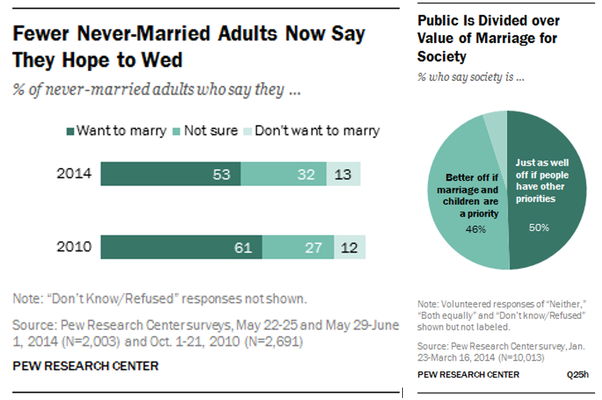 Decline mgtow marriage The Future