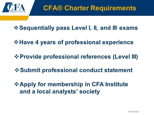 How to become a CFA in India - Quora