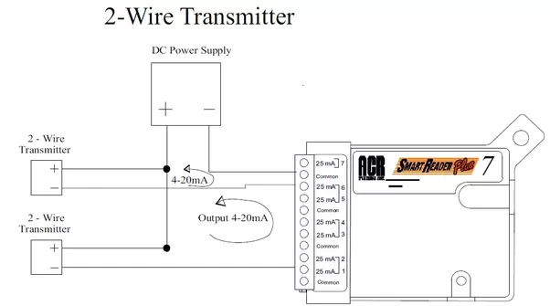 what is the difference between two wire and four wire transmitter rh quora com  4 wire ultrasonic transmitter wiring diagram