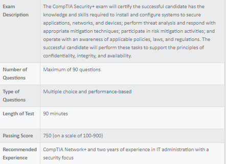 How hard is CompTIA Security +? - Quora