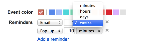 how to make a reminder on gmail