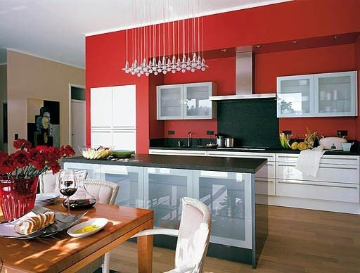 Interior Design: What is the most suitable color for kitchen\'s walls ...