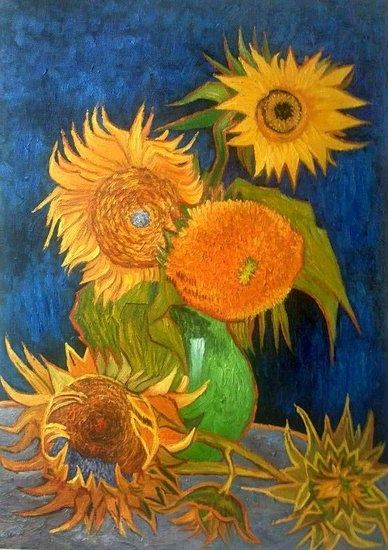 Vincent Van Gogh Liked The Effect Of Complementary Colors In His Paintings So Blue And Orange Red Green Yellow Purple