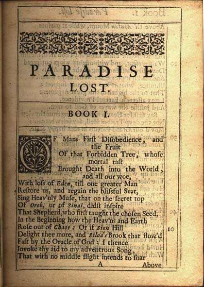 an analysis of obedience in paradise lost by john milton Paradise lost book 3 john milton (1667) what pleasure i from such obedience paid, when will and reason (reason also is choice) useless and vain.
