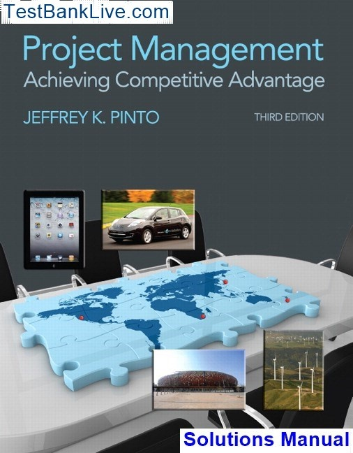Project Management Achieving Competitive Advantage Pdf