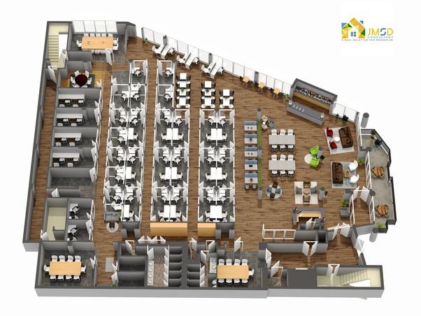 company offering 3D floor plan