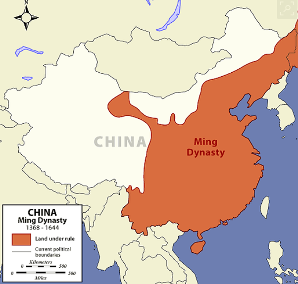 What are the characteristics of the ancient China dynasties map? - Characteristics Of A Political Map on