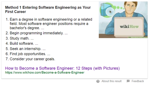 Which courses do we have to do to become a software engineer