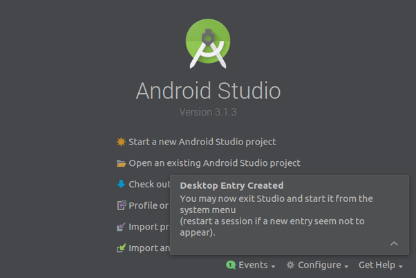 How to add Android Studio to the launcher in Ubuntu - Quora