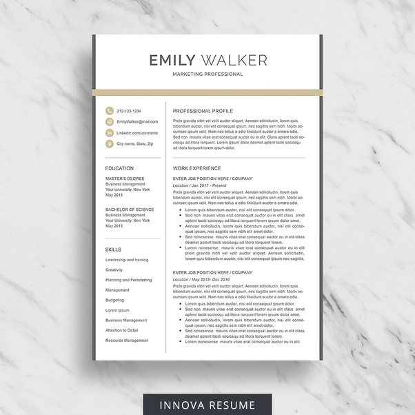 Can You Share A Killer Resume Template?