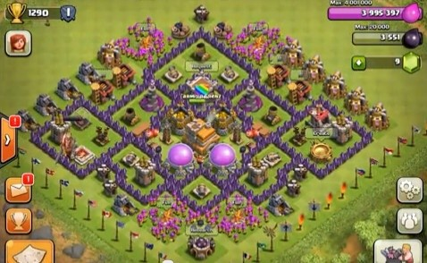 What is the best defensive village for town hall 7 of 2016 ...