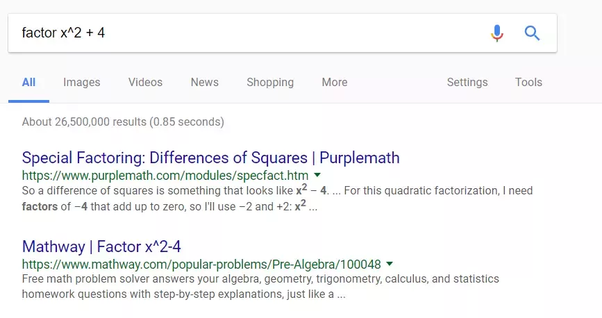 Why did you switch from Google to Bing? - Quora Mathway Blocked on