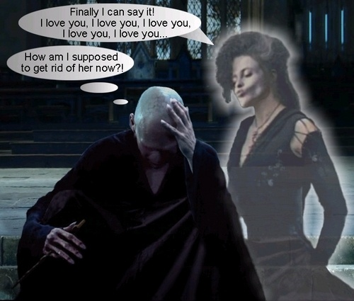 Who is more obsessed, Snape with Lily or Bellatrix with Voldemort