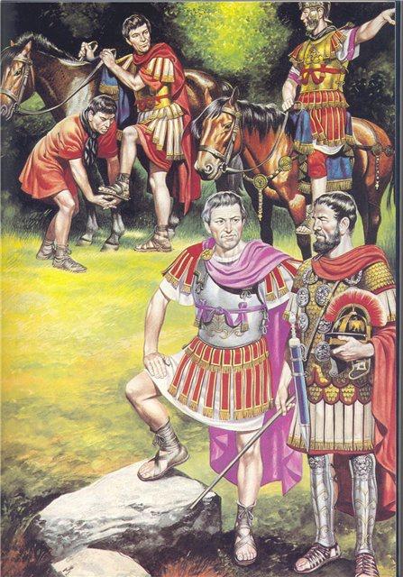 Pair XL Bronze Roman Gladiator Statues Soldier