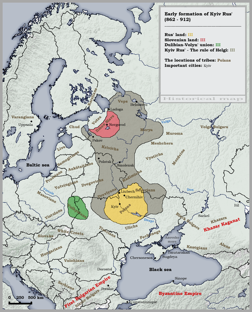Formation of the Old Russian State