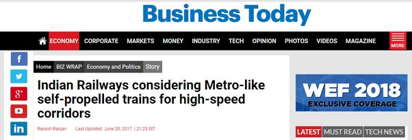 Comment le service des chemins de fer indiens peut-il être amélioré de manière pratique?