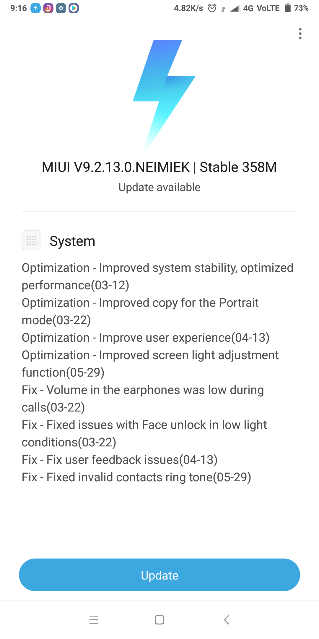 What are the new features in MIUI 9 2 13 0 update? - Quora