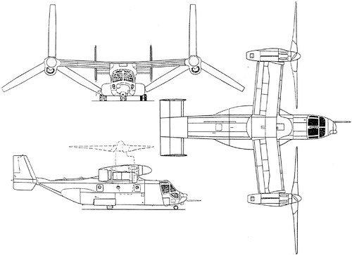 how does the v 22 osprey make a forced landing quora rh quora com Osprey Bird V-22 Osprey Diagrams