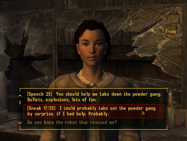 What made fallout new vegas superior to fallout 4 quora i mean you have no clue on what to respond with so you just pick a guess and what the character is about to say the most common responses are either yes voltagebd Image collections