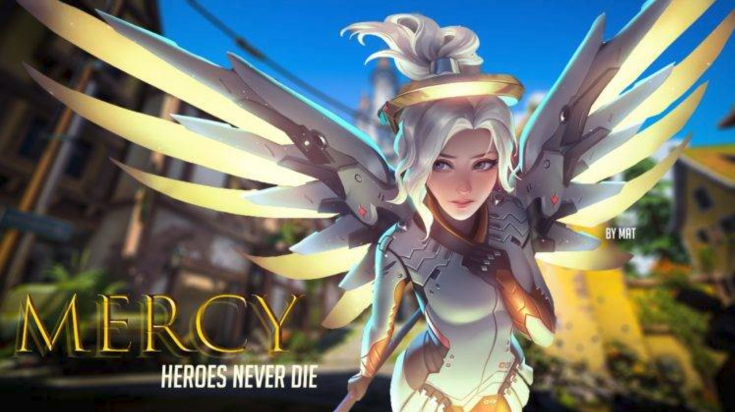 What is the best way to play Mercy in Overwatch? - Quora