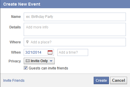 Does facebook no longer let you create a secret event quora read the full article here creating facebook events the engagement blog hisocial stopboris Image collections