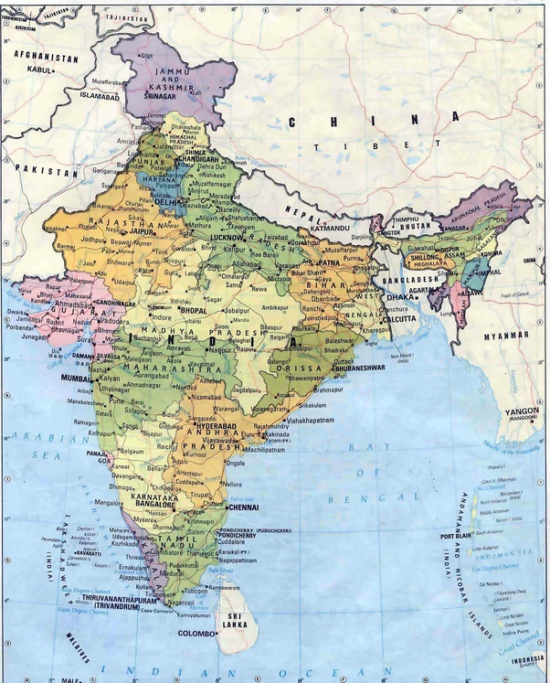 How Can Pakistan Eliminate India From A World Map Quora
