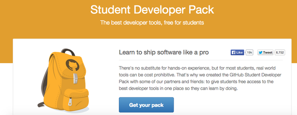 What are some good uses for the GitHub Student Developer Pack? - Quora
