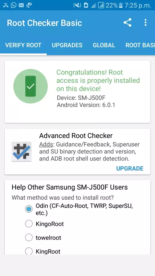 Can T Root My Phone I Have Tried All Methods But It Ain T