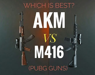 Is Akm better than M416 in Pubg? - Quora