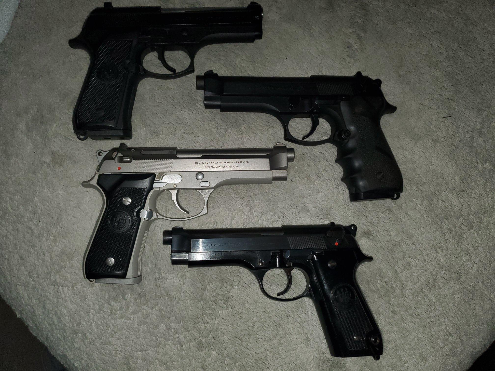 1998 Beretta Law Enforcement Program Brochure
