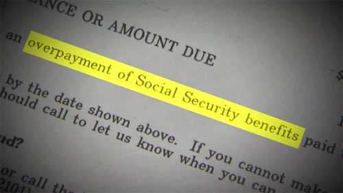 How to prove that social security overpayment was not my