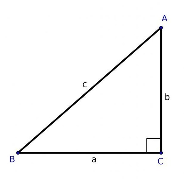 Right Angle Triangle : How to always know which part of the right angled triangle