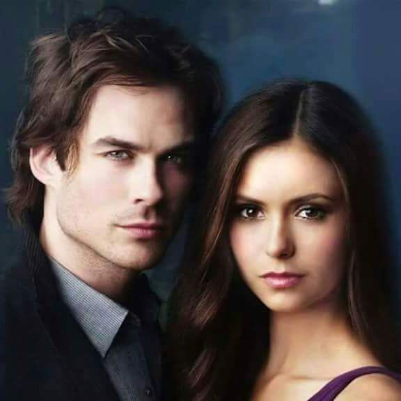 In Vampire Diaries How Is Damons And Elenas First Kiss Quora
