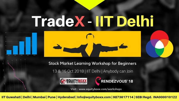 What motivates you quora e attend stock market learning workshop in iit delhi on 13 oct and 16 oct 2018 no prerequisites anybody can join workshop on stock market for fandeluxe Image collections