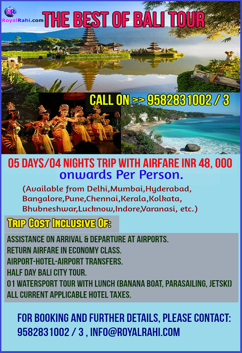 For How Much Can I Get A Honeymoon Package In Bali