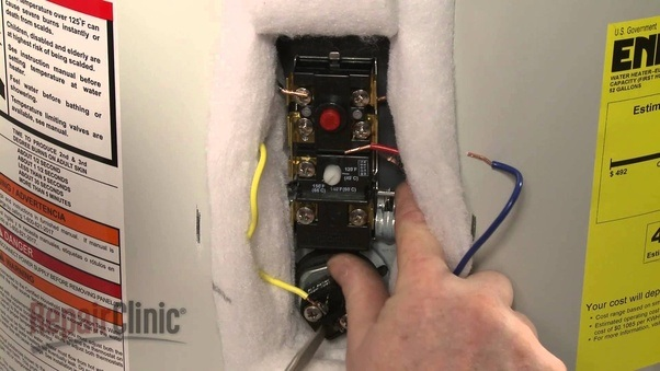 how to know if a hot water tank is set up for gas and electric quora rh quora com wiring up a hot water heater wiring up a hot water heater